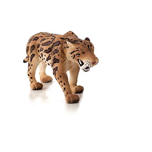 Mojo Fun 387048 Smilodon / Saber Tooth Tiger   Realistic Prehistoric Dinosaur Toy Replica
