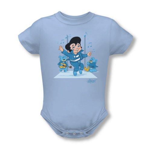 Wicked Tees Babies ELVIS JAILHOUSE ROCKER XLarge Onesie (Elvis Onesie)