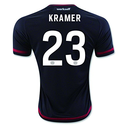 fan products of Black #23 Kramer Home Match Football Soccer Adult Jersey 2015-16