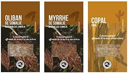 3 Incense resins to Burn Copal Frankincense Myrrh