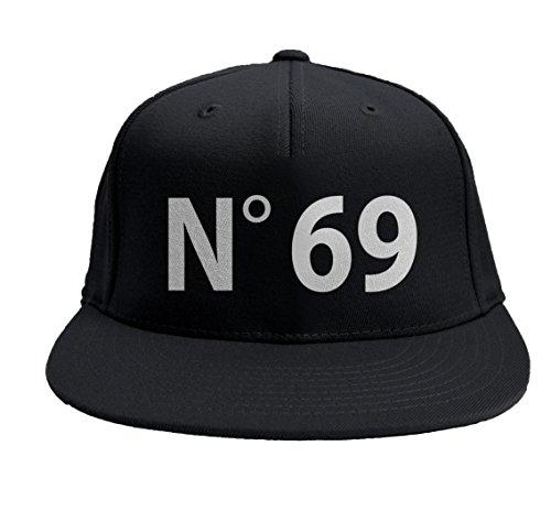 """Gorro Rap """"N °69"""" baseball SNAPBACK visera llana baseball rapper"""