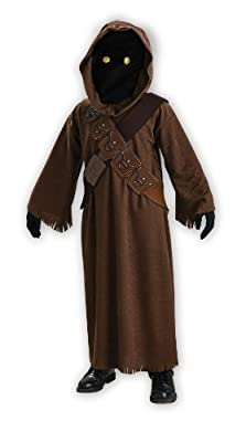 Star Wars Jawa Costume With Light Up Eyes - One Color - Medium from Rubies - Domestic