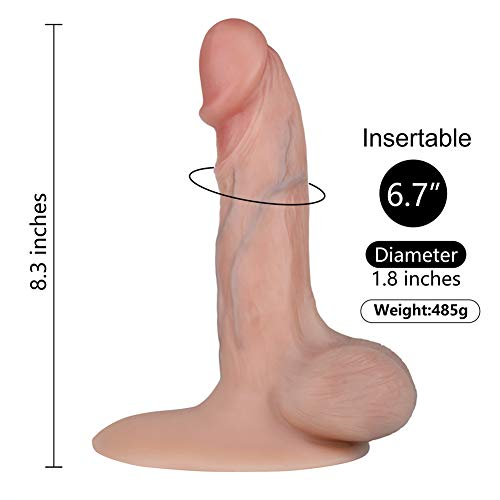Realistico Dildo, essendo Fetish Bendable 8 pollici G-Spot-3848
