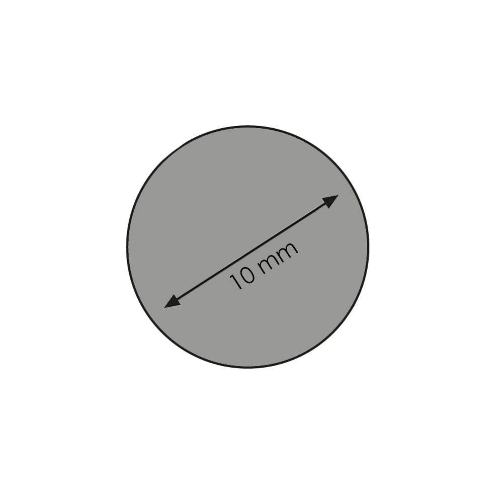 Rundstab Bastelstab Bastelleiste Rankhilfe Holzstab aus Buche-Massivholz /Ø 10 mm 1000 mm