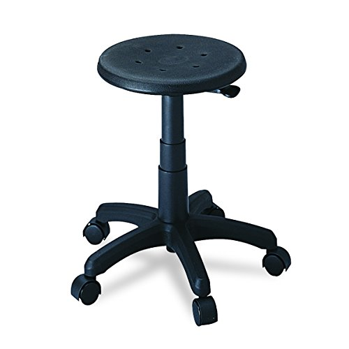 Safco Products 5100 Office Stool (Additional options sold separately), Black by Safco Products