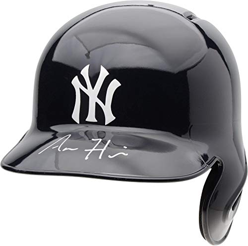Aaron Hicks New York Yankees Autographed Replica Batting Helmet - Fanatics Authentic Certified - Autographed MLB Helmets