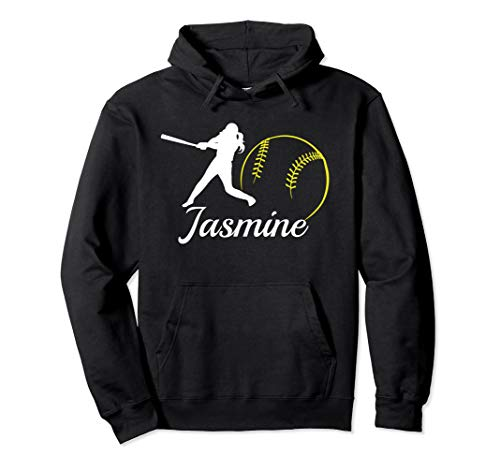 Jasmine Name Shirt Softball Hoodie Sweatshirt