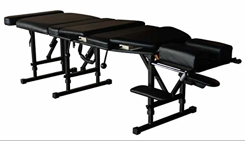 - Therapist's Choice® Arena 180 Portable Chiropractic Drop Table (Pelvic & Thoracic Drops included), Black