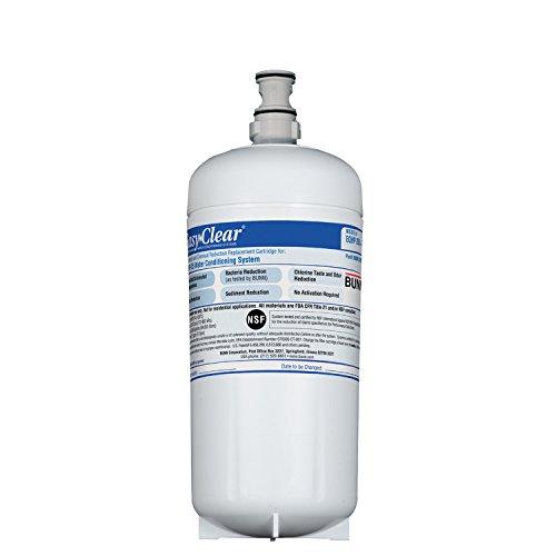 BUNN 39000.100200000001 Water Filer Replacement Cartridge, White by BUNN