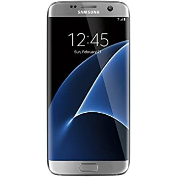 Samsung Galaxy S7 Edge unlocked smartphone, 32 GB Silver (US Warranty - Model SM-G935UZSAXAA)