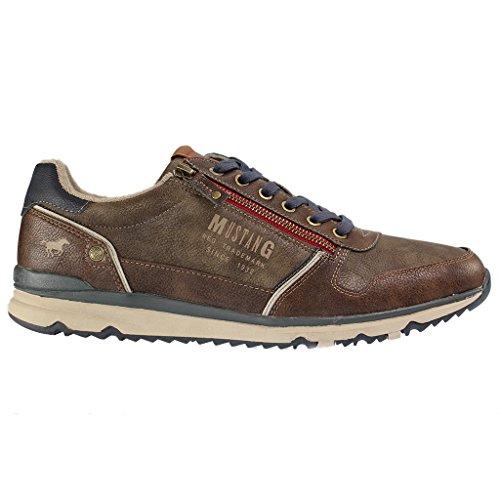 Mustang Herren Sneaker - Braun Schuhe in Übergrößen