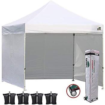 Amazon Com Eurmax 10x10 Ez Pop Up Canopy Outdoor Canopy