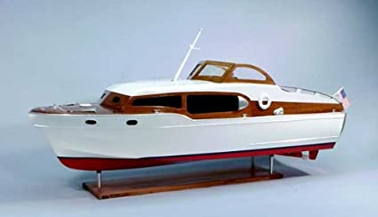 1954 Chris Craft Commander Express Cruiser Wooden Boat Kit By Dumas