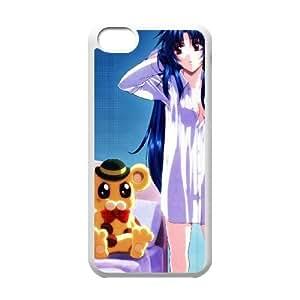 iPhone 5c Cell Phone Case White full Metal Panic Fumoffu 006 LQ7378262