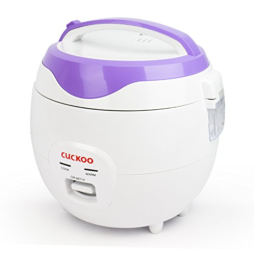 Cuckoo Electric Heating Rice Cooker CR-0671V (Violet/White) by Cuckoo (Image #4)