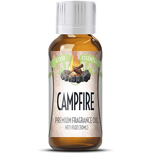 Campfire Scented Oil by Good Essential (Huge 1oz Bottle - Premium Grade Fragrance Oil) - Perfect for Aromatherapy, Soaps, Candles, Slime, Lotions, and More!