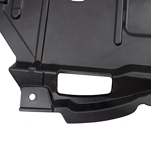Hybrid 5144206050 5144106060 BROCK Pair Set Engine Under Covers Splash Shield Guards Replacement for 07-09 Toyota Camry