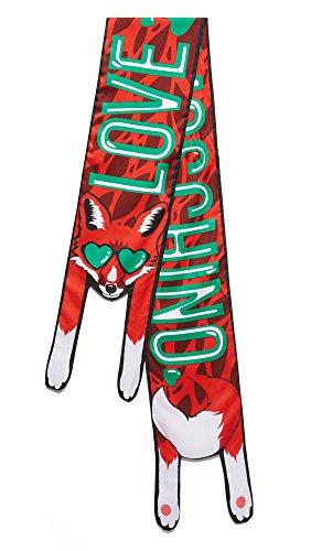 Love Moschino Borsa Grain Pu femmes, sac à main, rouge