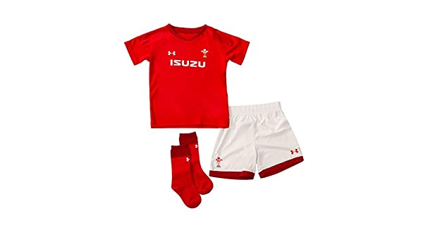 Welsh Rugby Home Kit Toddler Infant /& Baby Under Armour