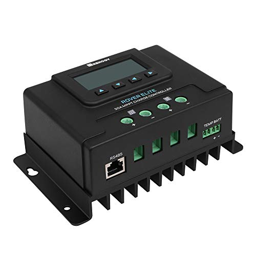 affordable Renogy Rover Elite 20 amp MPPT Solar Charge Controller, 20Amp, with LCD Display