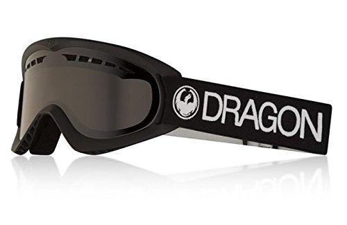 Dragon Alliance DX Ski Goggles, Black, Black/Dark Smoke Lens