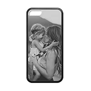 ipod touch 4 touch 4 Case, [Family Baby] ipod touch 4 touch 4 Case Custom Durable Case Cover for ipod touch 4 touch 4 TPU case (Laser Technology)