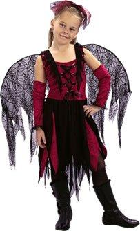 Bristol Novelty Goth Spider Fairy (s) (Gothic Spider Bride Costume)