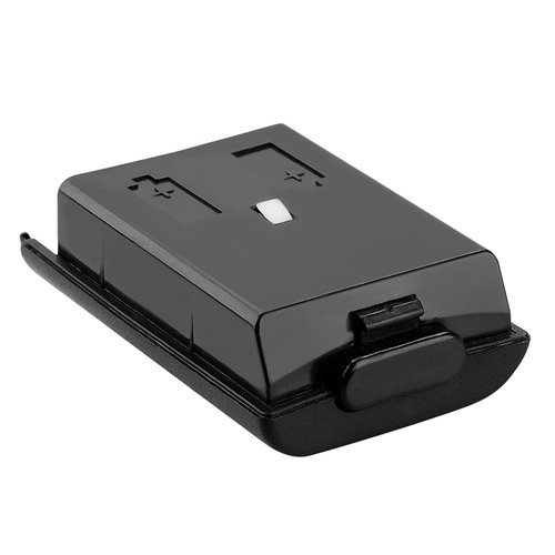 GTMax Replacement Black Controller Battery Cover for Microsoft XBOX 360