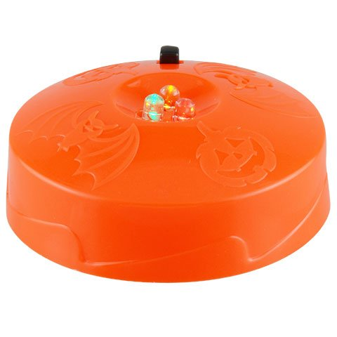 Halloween Fall Spooky Creepy Haunted House Kids Teen Toddlers LED Pumpkin Strobe Light Batteries Included (Printable 3d Halloween Decorations)