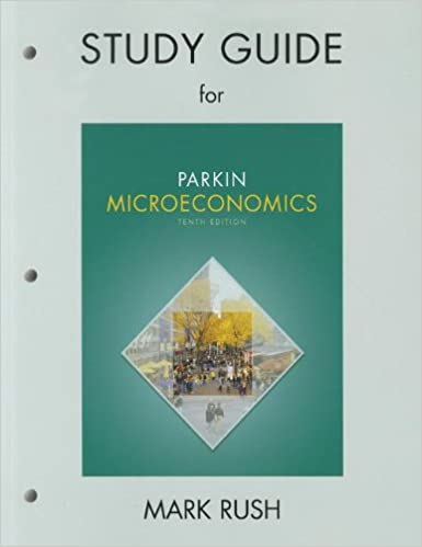 Study guide for microeconomics michael parkin 9780131394315 study guide for microeconomics 10th edition by michael parkin fandeluxe Gallery