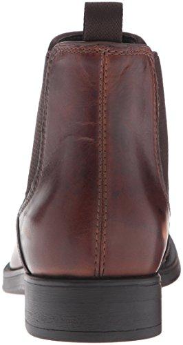 Geox Uomo Blaxe Herren Chelsea Boots Braun (BROWNCOTTOC6003)