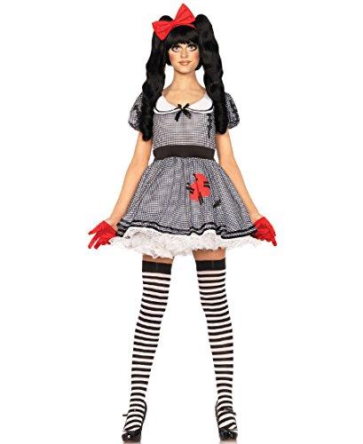 Leg Avenue 85379 Wind-Up Doll Halloween Costume -