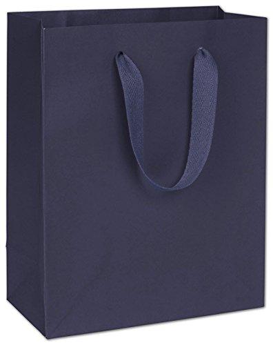 EGP Manhattan Eco Euro-Shoppers 8 x 4 x 10, 100 Bags (Navy) ()