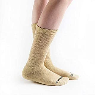 product image for Doc Ortho Ultra Soft Loose Fit Diabetic Socks, 6 Pairs, Crew