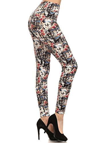 Leggings Depot Women's Popular Tribal Printed Leggings (N-336)