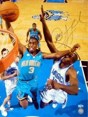 (Chris Paul Autographed Dunk Against Dwight Howard 16x20 Photo - Autographed NBA Photos )
