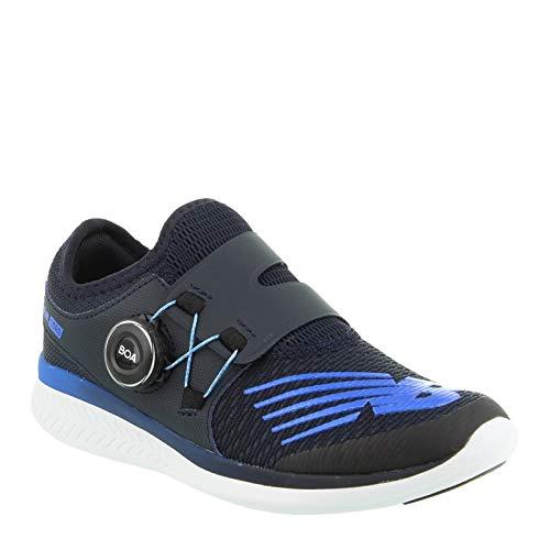 New Balance Boys' Reveal V1 Running Shoe, Eclipse/Vivid Cobalt, 1.5 W US Little Kid