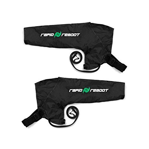 (Rapid Reboot: Compression Arms Compatible with Pump. Sequential, Dynamic air Compression for Massage Therapy, Improved Circulation and Faster Workout Recovery for All Athletes (Regular))