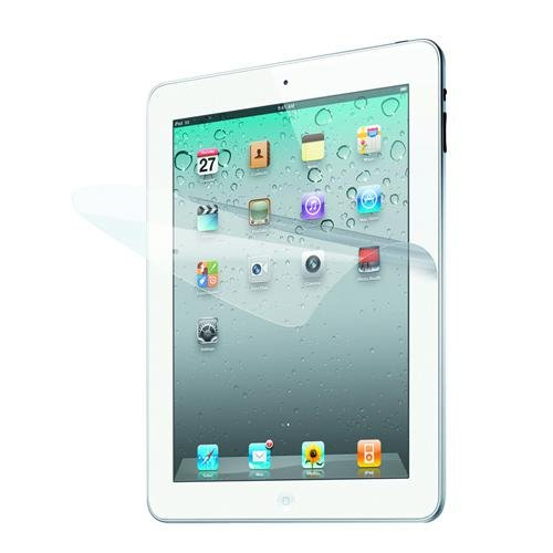 iLuv Clear Screen Protector for Apple iPad 4, iPad 3rd Generation and iPad 2 - Clear Screen Iluv