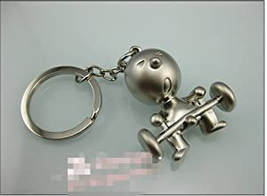 Manner Keychain kreative MR.P Langhantel