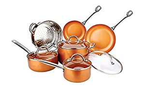 Copper Colored Non-Stick Cookware