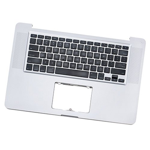 (661-5854, 661-6076, 661-6509) Top Case + Keyboard - Apple MacBook Pro 15'' A1286 (Early 2011, Late 2011, Mid 2012) by Command Mac Parts