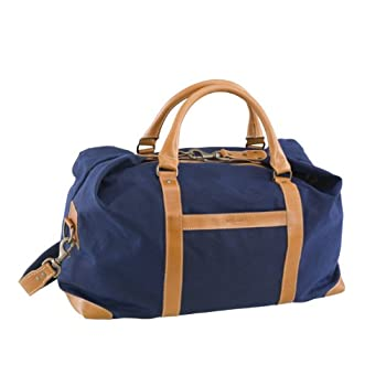 Image of BELDING American Collection Satchel Duffle Bag, Navy Duffel Bags
