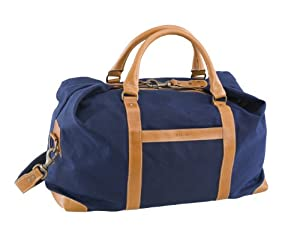 Amazon.com : BELDING American Collection Satchel Duffle Bag, Navy ...
