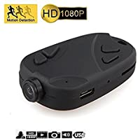 fannuoyi keychain camera 808 1080P Wide Angle 120 Degree Nanny Cam Motion Activated Portable Pocket DV