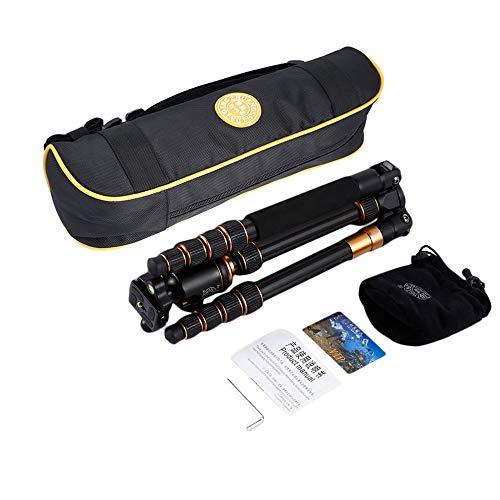 品質一番の カメラ用ボールヘッド三脚 Q666C ポータブルカーボンファイバー三脚 旅行三脚 旅行三脚 Q666C カメラボールヘッドデジタルカメラ三脚用 B07PVB8FS2 5セクションセンターコラム用 B07PVB8FS2, リセプト インテリア:8aab0137 --- martinemoeykens.com