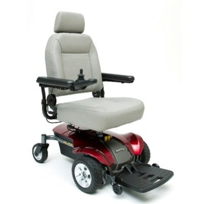 Pride Jazzy Select Elite Motorized Wheelchair W/Captain Seat And Batteries