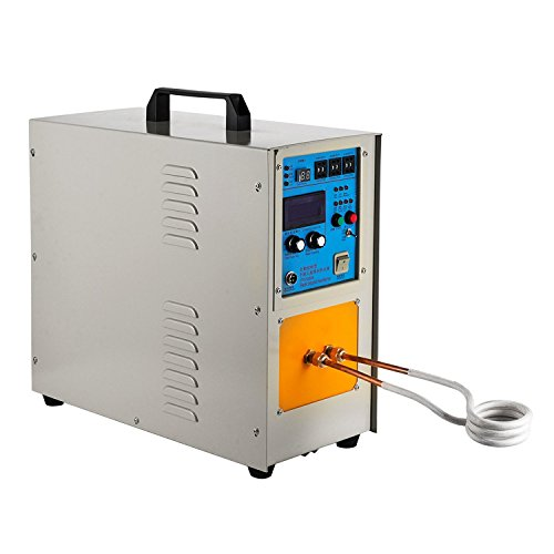 (Happybuy 15KW 30-100KHz High Frequency Induction Heater Furnace Melting Furnace System LH-15A Max Heating Capacity 2200 ℃ (3992 ℉))
