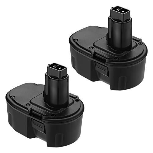 Giant Little Replacement (FirstPower 3.5AH 14.4V XRP Battery Replacement for Dewalt DC9091 DW9091 DW9094 DE9038 DE9091 DE9092 DEWALT Power Tool Battery DEWALT XRP DC DW DE Series ( 2 Pack ))