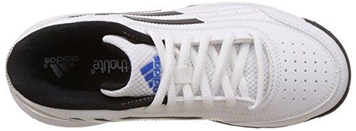 adidas Sonic Attack K, Zapatillas de Tenis Unisex Niños Blanco (Ftwbla / Negbas / Plamat)